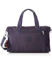 Kipling - PAULINE Tote da viaggio, 40 cm, 20 liters, Viola (Blue Purple) - Lyst