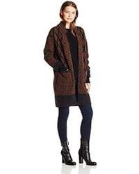 Twelfth Street Cynthia Vincent - Long Jacket Sweater - Lyst