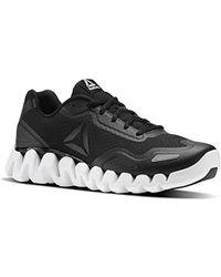 Lyst - Reebok Zigpulse Running Shoe Carbon in Black for Men 171ea127e