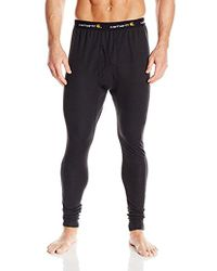 Carhartt - Tall Base Force Cold Weather Bottom,black,xx-large - Lyst