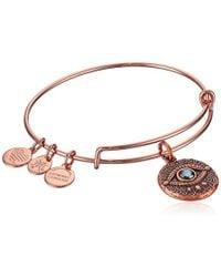 ALEX AND ANI - Evil Eye Bangle Bracelet Expandable - Lyst