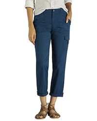 Lee Jeans - Relaxed Fit Santiago Knit Waist Capri Pant - Lyst
