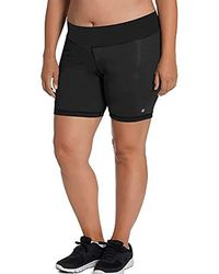 ad912d79d2c2 Champion - Plus Size Absolute Short With Smoothtec Waistband - Lyst