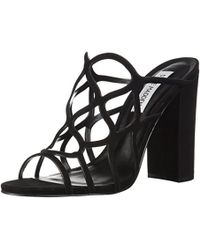71f7b49aba1 Lyst - Steve Madden Insomnia Platform Ankle Strap Sandal in Black