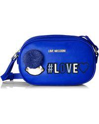 3c1947997c8 Love Moschino Borsa Pu Shoulder Bag in Red - Lyst