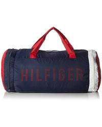 Tommy Hilfiger - S Packable Duffle Canvas And Beach Tote Bag - Lyst