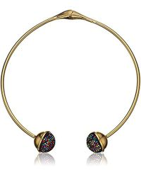 """Trina Turk - """"confetti And Cocktails"""" Multi Color Pave Ball Pendant Necklace - Lyst"""
