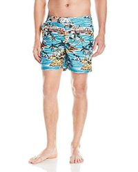 Original Penguin - Tropical Printed Fixed Volley - Lyst