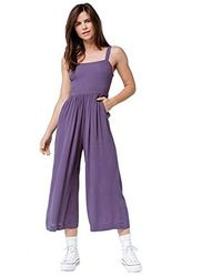 03f63836922 O neill Sportswear - Wella Wide Leg Woven Jumpsuit - Lyst