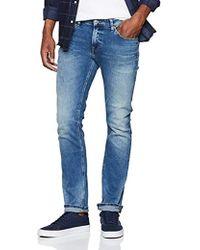 7378be30 Tommy Hilfiger Scanton Slim Jeans in Blue for Men - Lyst