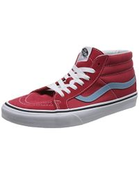 Vans - Unisex Adults' Sk8-mid Reissue Hi-top Trainers - Lyst