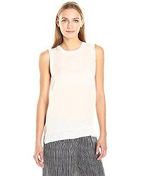 Theory - Lewie Ggt Combo Top - Lyst