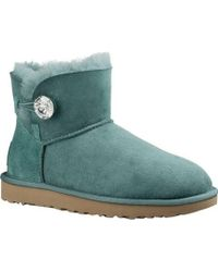 UGG - Mini Bailey Button Bling Winter Boot - Lyst