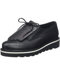4f1be9168daf Tommy Hilfiger - Pearlized Leather Lace Up Shoe Derbys - Lyst