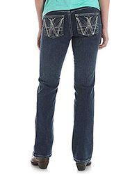 Wrangler - Shiloh Low Rise Boot Cut Ultimate Riding Jean, - Lyst