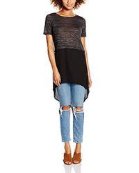 Vero Moda - Juca Short Sleeve Shirt With Contrast Fabric - Lyst