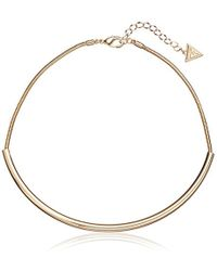 Guess - Choker Necklace - Lyst