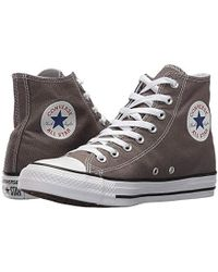 33ba759b48b Lyst - Converse Chuck Taylor All Star Core Low Top Canvas Navy Ankle ...
