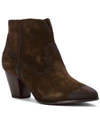 Frye - Renee Seam Short Boot - Lyst