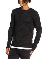 4008a4b51803 Cheap Monday Deprived Knit in Black for Men - Lyst