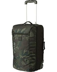 RVCA - Eastern Small Roller Bag Travel Luggage - Lyst