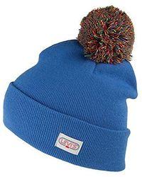 f562bbdedb8 Levi s - Hats Rainbow Pom Bobble Hat - Blue - Lyst