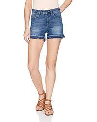 Vero Moda - Seven Fold Down Shorts - Lyst