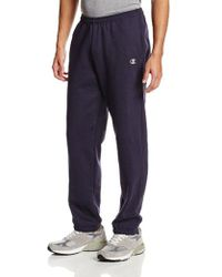 Champion - Elastic Hem Eco Fleece Sweatpant - Lyst