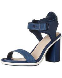 Lacoste - Lonelle High-heel Sandal - Lyst