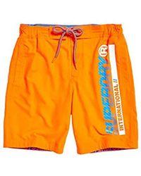 Superdry - Boardshort Short Homme - Lyst