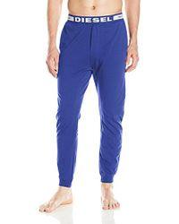 DIESEL - Julio Sleep Pant, Royal Blue, Large - Lyst