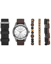 Skechers - Quartz Metal Casual Watch, Color:brown (model: Sr9010) - Lyst