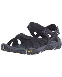 Merrell - All Out Blaze Sieve Convert (black) Shoes - Lyst