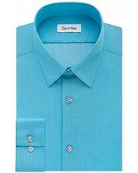 CALVIN KLEIN 205W39NYC - Slim Fit Dress Shirt - Lyst