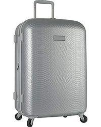 "Anne Klein - 29"" Hardside Spinner Luggage, Silver - Lyst"