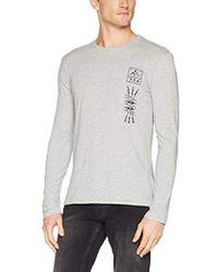 Benetton - T-shirt Longsleeve - Lyst