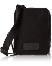 Calvin Klein - Modern Bound Mini Reporter, 's Shoulder Bag, Black, 4x18x18 Cm (b X H T) - Lyst