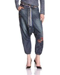 Desigual - 36d2686 Baggy Jeans - Lyst