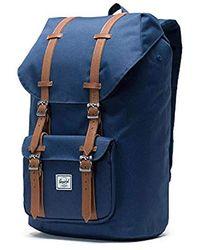 55ab55ee64 Lyst - Herschel Supply Co. Little America Backpack in Blue for Men