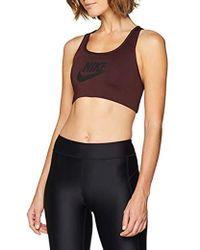 Nike - Swoosh Futura Bra Sujetadores, Mujer - Lyst