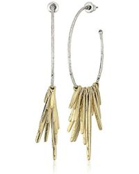 Steve Madden - Spike Drop Earrings - Lyst