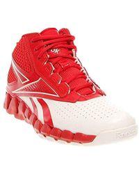 Reebok Zig Pro Future Basketball Shoe - Red