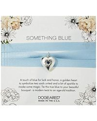 Dogeared - Something Blue Bouquet Wrap, Sterling Silver - Lyst