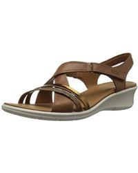 Ecco Online Flat Sandals Sale Women's 1n6OXAqTT