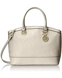 Anne Klein - New Recruits Large Dome Satchel Bag - Lyst