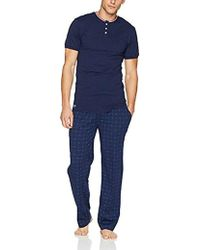 Lacoste - Printed Croc Drawstring Lounge Set - Lyst