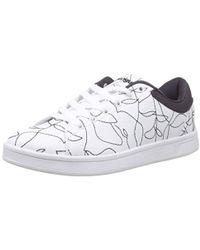 61af0c31c45a Les (Art)Ists Les (art)ists X Swear Low-tops   Sneakers in Black - Lyst