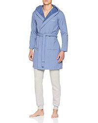 GANT - Flat Stripe Robe Dressing Gown - Lyst