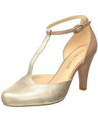 Clarks - Dalia Tulip T-bar Court Shoes - Lyst