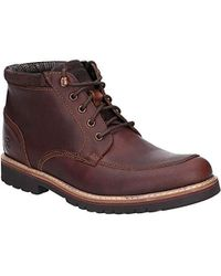 Rockport - 's Marshall Rugged Mock Toe Boot Classic - Lyst